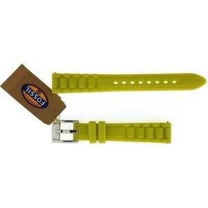 S141062 Watch Band Color Lime Green Silicone